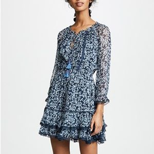 Rahi Bluebell Lacey Dress, Bluebell Print